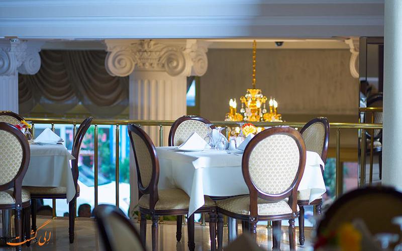 رستوران هتل تیلیا استانبول