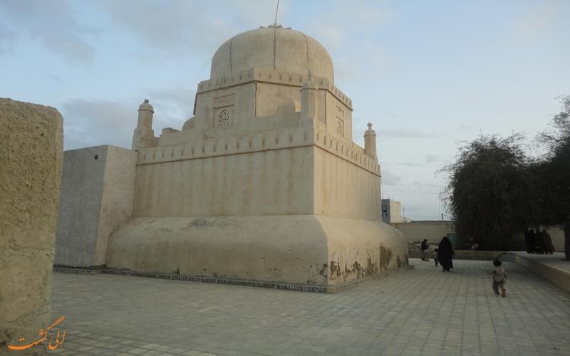 آرامگاه سید غلام رسول در بندر چابهار