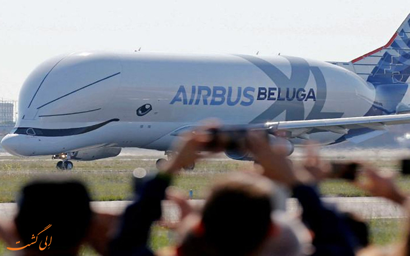 با نسل جدید هواپیماهای غول پیکر ایرباس آشنا شوید، هواپیمای belluga XL