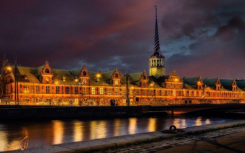 ساختمان تاریخی بورس دانمارک