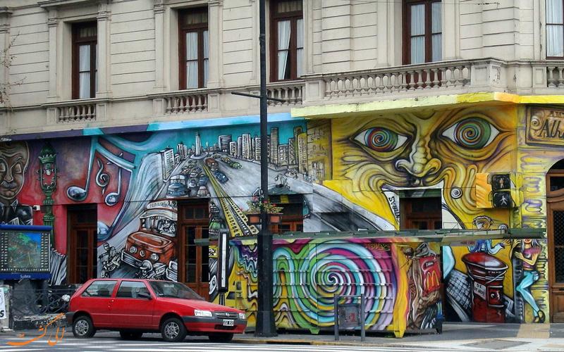 هنر خیابانی بوینس آیرس