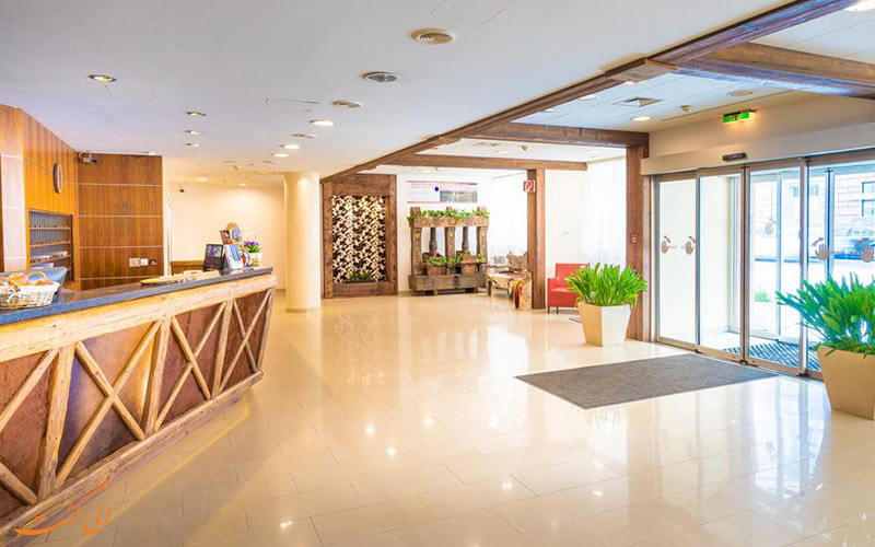 موقعیت هتل انزیانا وین