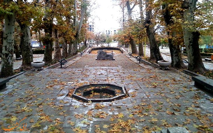 پاییز در پارک تاریخی سیفیه همدان