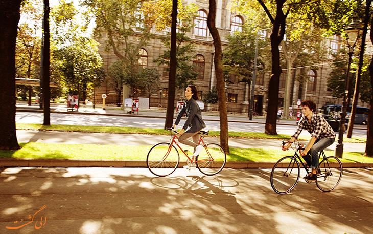 دوچرخه سواری در رینگ اشتراسه