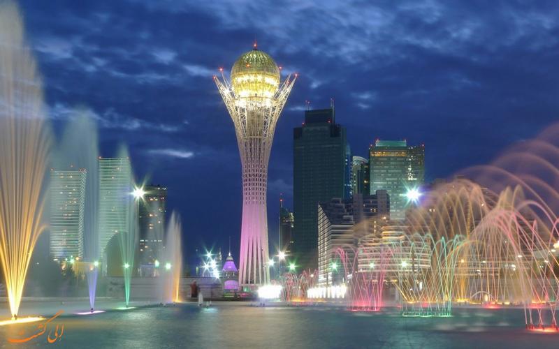 قزاقستان در لیست بزرگترین کشورهای جهان