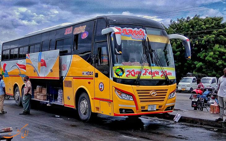 هزینه حمل و نقل در تانزانیا