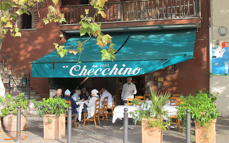 رستوران چچینو رم