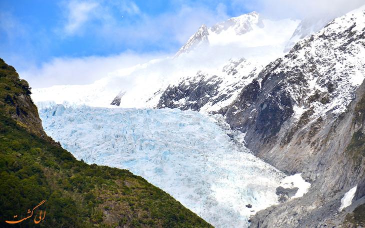 بازدید از یخچال طبیعی فاکس