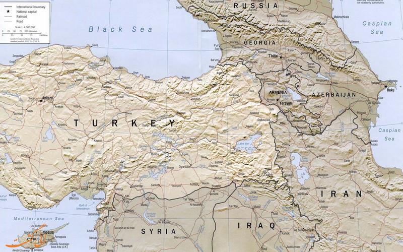 کشورهای همسایه ایران