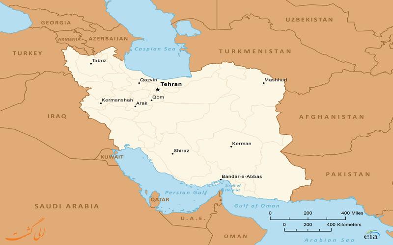 کشورهای همسایه با ایران