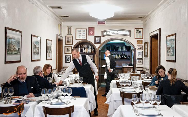 رستوران لا کامپانا رم