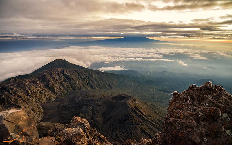 کوه مرو - جاذبه های گردشگری تانزانیا