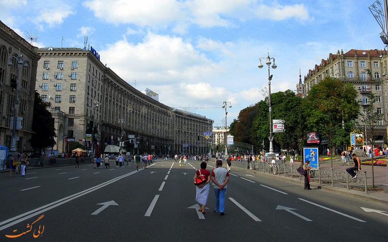 خیابان خرشچاتیک کیف