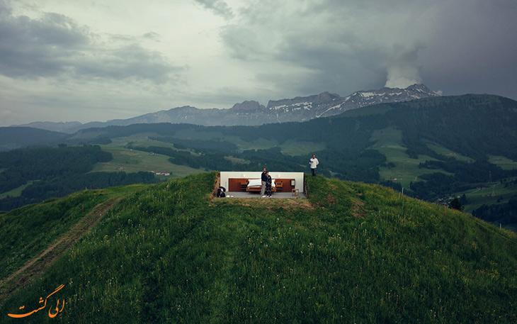 هتل بی ستاره سوئیس