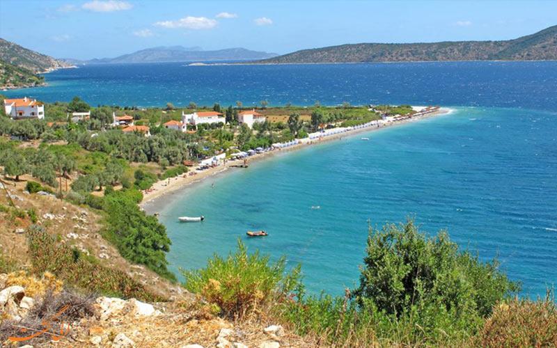 بهترین سواحل صدفی دنیا در یونان