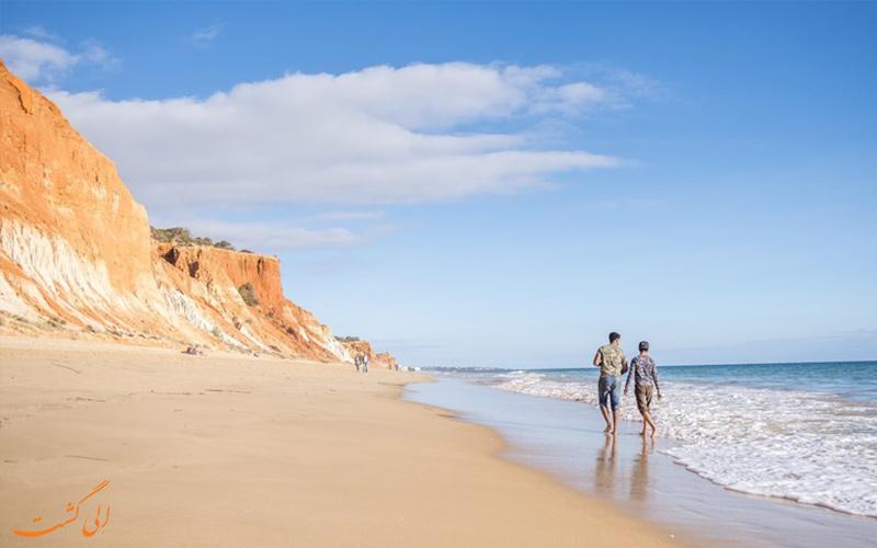 بهترین سواحل صدفی دنیا در پرتغال