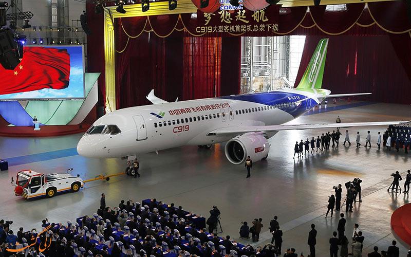 جدیدترین هواپیماها در چین