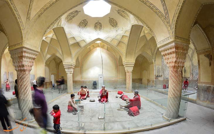 موزه گرمابه حمام وکیل شیراز