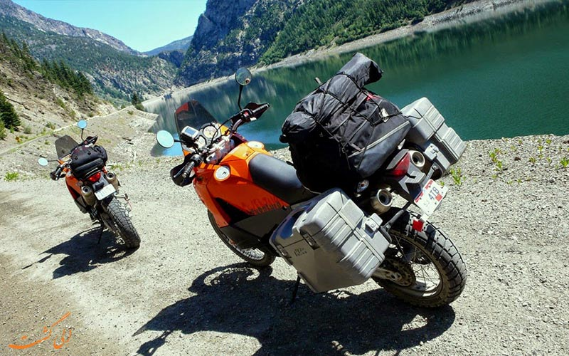 سفر با موتورسیکلت-تور