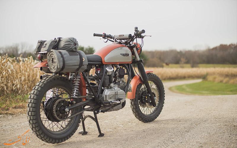 سفر با موتورسیکلت