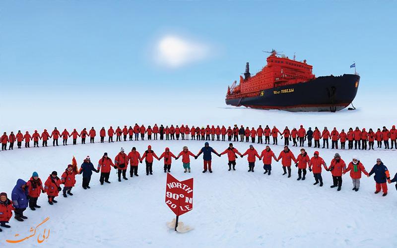 نکات سفر به قطب شمال-تورهای پیاده روی