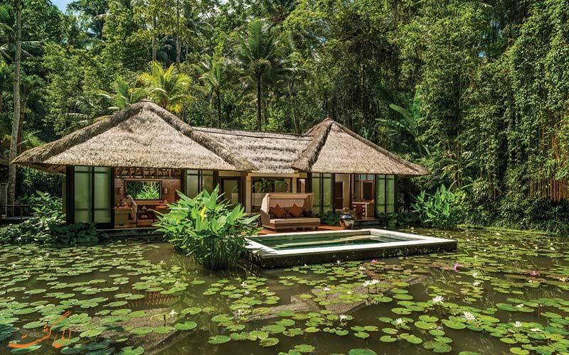 هتل های بالی- ذن در بالی