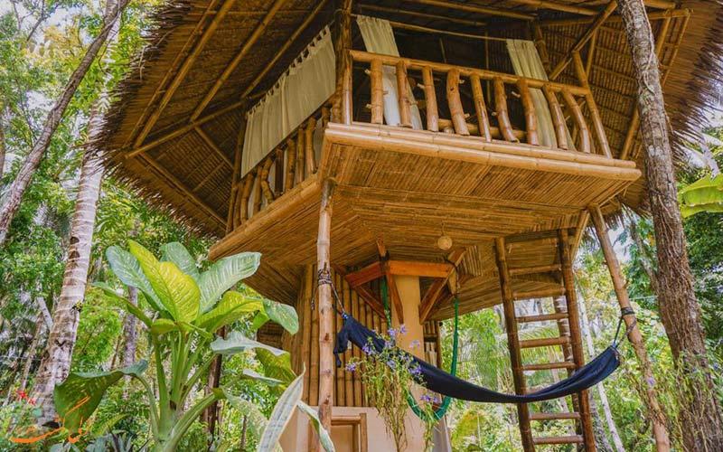 هتل های جنگلی بالی-مخفیگاه ذن