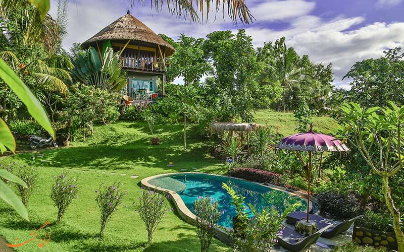 هتل های جنگلی بالی