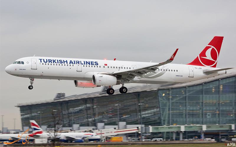پروازهای ایران به ترکیه-الی گشت
