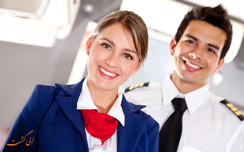 نکته های سفر از زبان مهمانداران هواپیما
