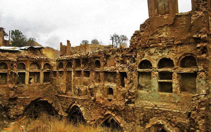 روستای قلات در شیراز