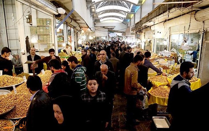 خرید در بازار سنتی همدان