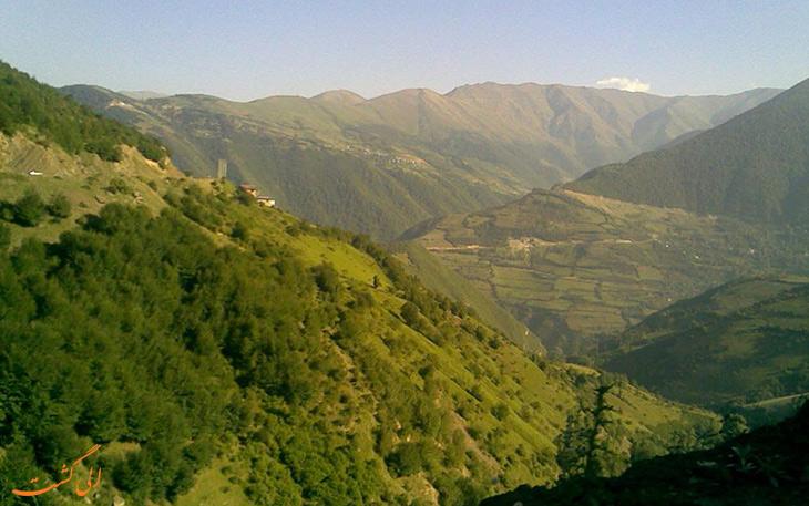 روستای هنزا در کرمان