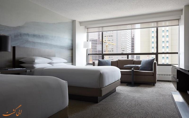 هتل 4 ستاره مریوت