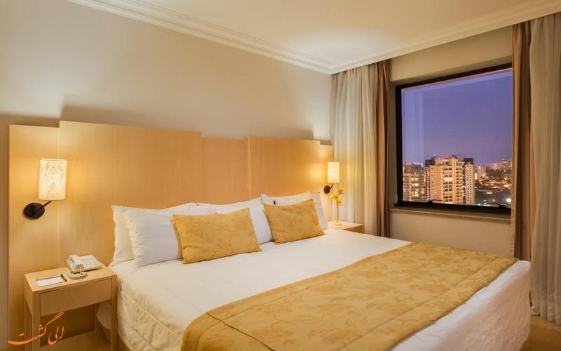 هتل 4 ستاره بلو تری مرومبی سائوپائولو