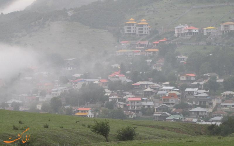 مه فیلبند و روستاهای زیبای مازندران