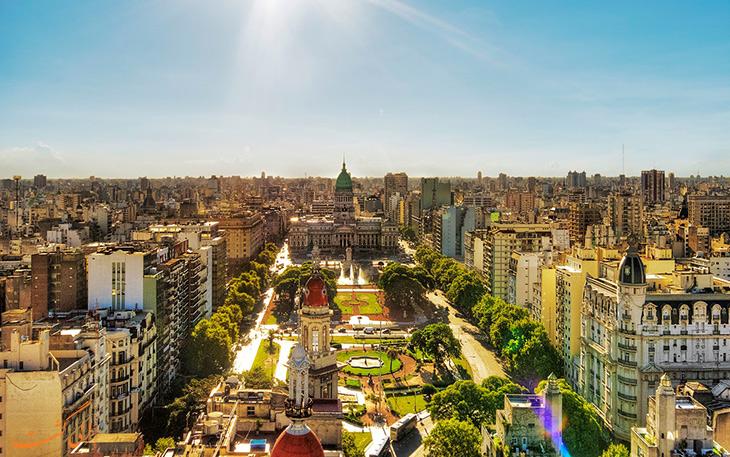 شهر بوینس آیرس در آرژانتین