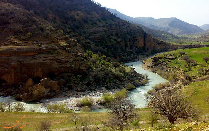 طبیعت روستای قلات در شیراز