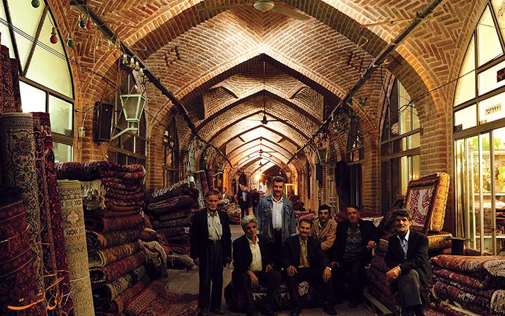 حجره های بازار سنتی همدان