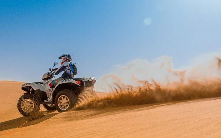 موتورسواری در دبی