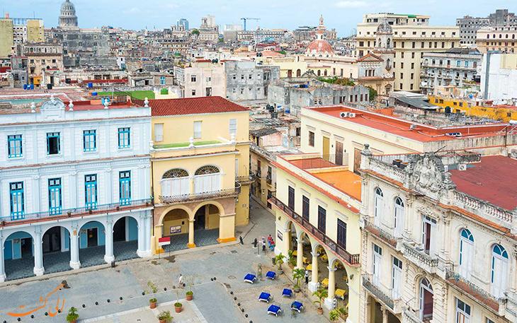 شهر قدیمی هاوانا