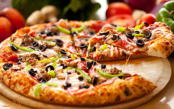 پیتزا آمریکایی