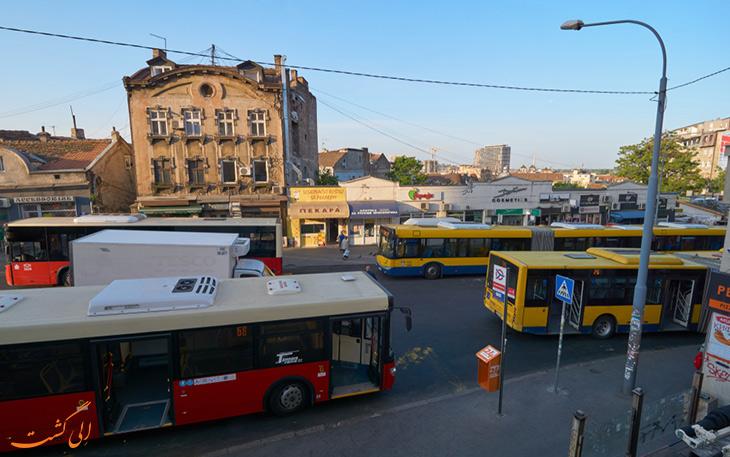 اتوبوس بلگراد