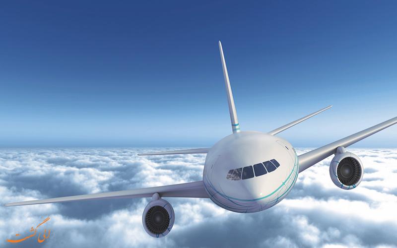 بوئینگ 7547 در حال پرواز