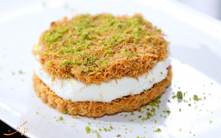 شیرینی کنافه عربی