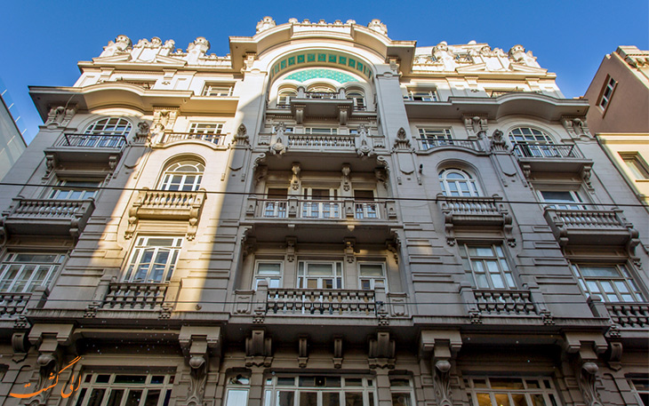 آپارتمان مسیر استانبول