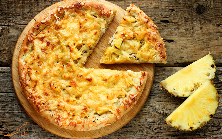 پیتزا آناناس