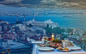 رستوران های خیابان استقلال استانبول