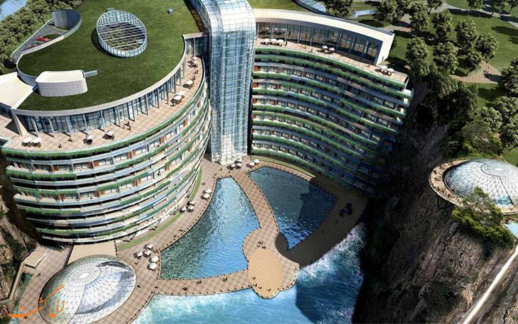 هتل زیر آب در شانگهای