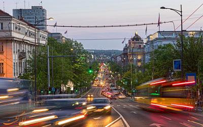 حمل و نقل عمومی در بلگراد